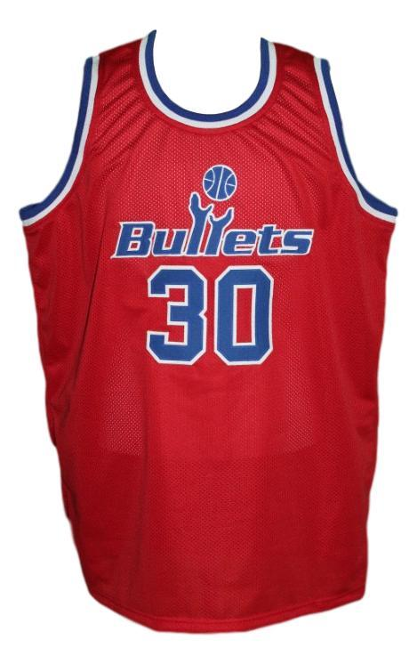 Rasheed wallace  30 washington retro basketball jersey red   1