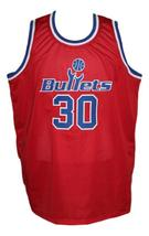 Rasheed Wallace #30 Washington Retro Basketball Jersey New Sewn Red Any Size image 1