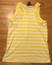 NWT Ralph Lauren Girl's Yellow & White Striped Sleeveless Shirt - Large 12/14 image 9