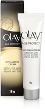 Olay Age Protect Anti-Ageing Cream  (18 g) Reduces wrinkles & improves s... - $13.86