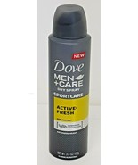 Dove Men + Care Sport Dry Spray Antiperspirant Deodorant Active + Fresh 3.8 oz  - $9.89