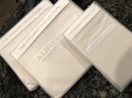 New Ralph Lauren Spa Organic Queen Sheet Set 400 TC Sand Castle - $233.74