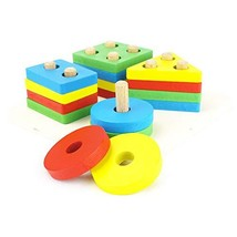 Genius Art Wooden Educational Shape and Color Recognition Sorter Game | - $21.75