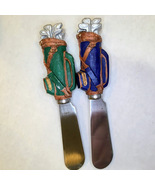 Boston Warehouse Stainless Steel Golf Bags Cheese Spreaders Set of 2 - $7.99