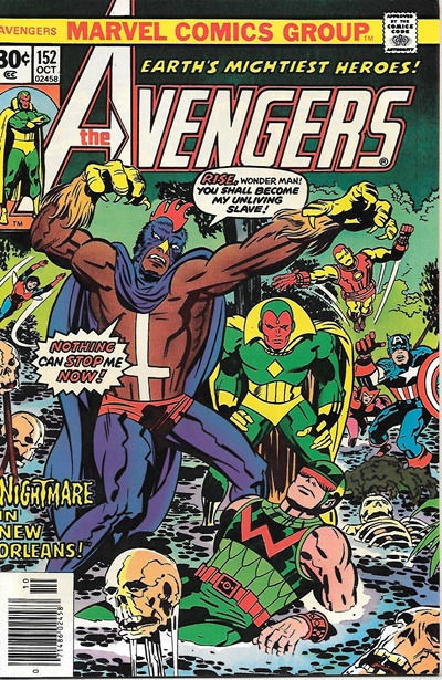 The Avengers Comic Book #152, Marvel Comics Group 1976 NEAR MINT