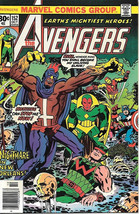 The Avengers Comic Book #152, Marvel Comics Group 1976 NEAR MINT - $16.39