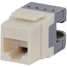 DataComm Electronics 20-3426-LA-10 CAT-6 Jacks, 10 Pack (Lite Almond) - $41.84