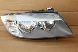 09-11 BMW E90/E91 330i 335D 4dr Halogen Headlight Passenger Right RH image 1