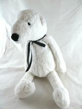 """Plush Polar Bear Igloo Bath & Body Works No clothes 14"""" Shaggy fur - $6.92"""