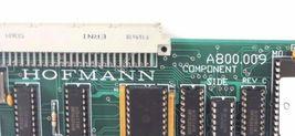 HOFMANN A800.009 CONTROL BOARD REV C A800009 image 3