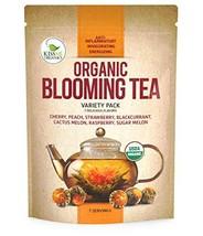 Blooming Tea - 7 Organic All Natural Flavors of Flowering Tea - 100% Org... - $12.81