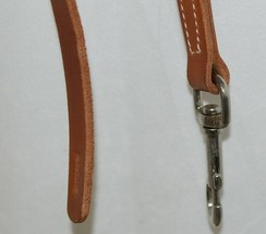 Unbranded Leather Tie Down Russett Oil Finish Color Four Feet Long image 2