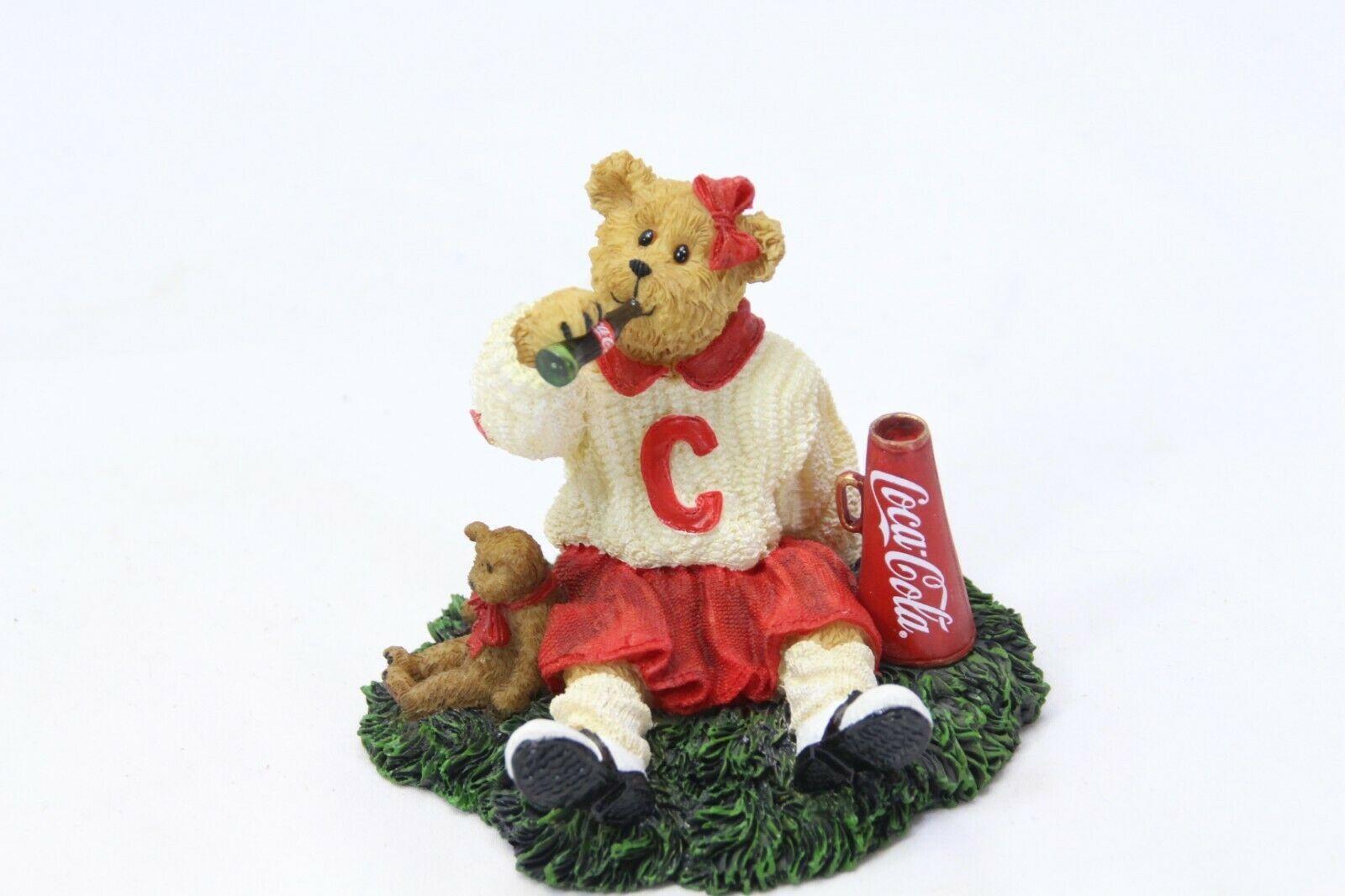 "Coca Cola® Boyds Bearstone ""Dinah"" Licensed 1E/2399  2006 Retired Stock"