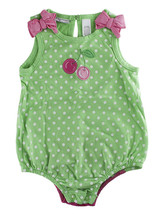 First Impressions Baby Girls One-Piece Cherry Sunsuit Bodysuit - $10.00