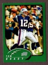 2002 Topps #248 Tom Brady (GOAT)- New England Patriots - $12.82