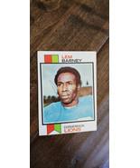 1973 Topps Signé Auto Carte Lem Barney Detroit Lions JACKSON St Hall Of ... - $19.96