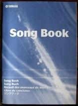 Yamaha Song Book for PSR Model Keyboards 68 pages 40 Songs, Original Yamaha - $19.79