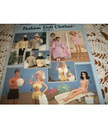 Crocheted Fashion Doll Clothes Book 2 Leaflet 437 - $12.00