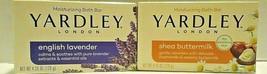 Yardley English Lavender & Shea Buttermilk Soap 4.25 oz 2 Bars - $4.95