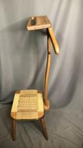 Mid Century Modern Valet Vintage Danish Style Butler Solid Wood Gentlema... - $494.99
