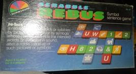 Scrabble Rebus Vintage Game -Complete - $12.00