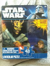 Star Wars Lenticular Puzzle 48 Pieces Great 3D Effect - $8.71