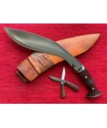 GURKHA GANJAWAL PREMIUM KHUKURI KHUKRI KUKRI KNIFE 12 INCH FULL TANG - $135.00