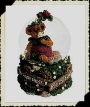 "Boyds Bearstone Waterglobe ""Jellie B Bearypickins"" Musical- #270564-1E-New - $39.99"