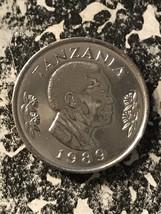 1989 Tanzania 50 Senti Lot#5982 High Grade! Beautiful! - $4.00