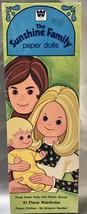 Mattel's The Sunshine Family Paper Doll Set Vintage 1974 - Steve Stephie... - $6.14