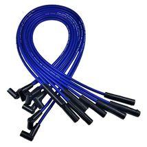 BIG BOCK FORD BBF 351C 351M 429 460 BLUE HEI Distributor + 8mm SPARK PLUG WIRES image 5