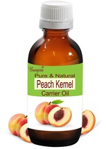 Peach Kernel Pure Natural Carrier Oil- 5 ml to 250 ml Prunus Persica by ... - $8.28+