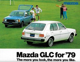 1979 Mazda GLC sales brochure catalog folder US 79 wagon Sport 323 Familia - $6.00