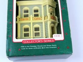 Vintage Hallmark Keepsake Ornament, Hall Bro's Card Shop, 1988 Collectors Series - $12.86