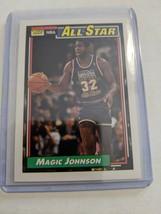1992-93 Topps All Star #126 Magic Johnson LAKERS RARE GEM MINT - $21.99