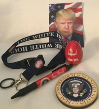 5 MAGA TRUMP = 2019 EASTER WHITE HOUSE RED EGG PEN LANYARD CARD MAGNET F... - $21.72