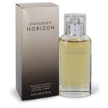 Davidoff Horizon by Davidoff Eau De Toilette Spray 2.5 oz for Men #543406 - $23.24