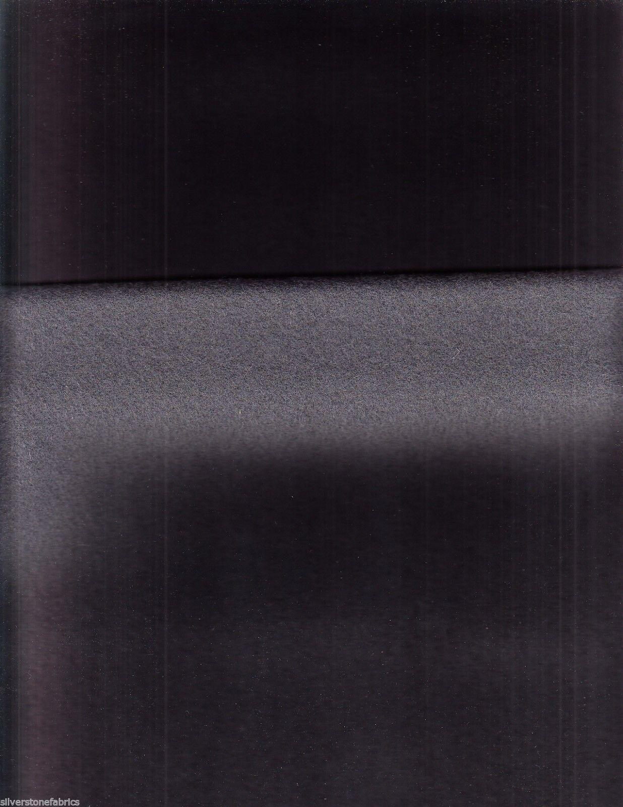 Mid Century Modern Upholstery Fabric Wool Felt 6512314 Grey 2 yards DM5