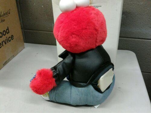 Vintage NOS 1997 Tyco Rock & Roll Elmo Doll (d23) (dd)
