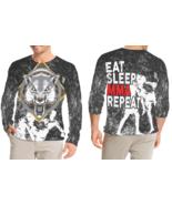MMA 2   R Long Sleeve T-shirt Fullprint For Men - $26.99