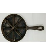 Antique Cast Iron Cornbread Skillet Pan - $19.79