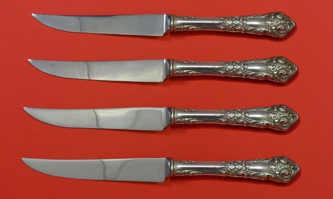 "10/"" Reed /& Barton French Renaissance Sterling Silver Handled Pastry Server"