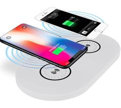 Dual Wireless Charger (White) - $19.99+