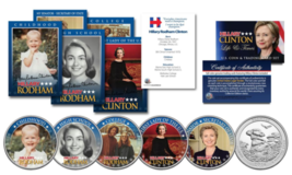 HILLARY CLINTON 2016 Presidential Life & Times 10 Piece Ultimate Coin & ... - $12.16