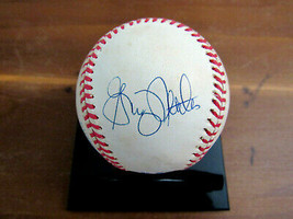 GRAIG NETTLES WSC YANKEES 3RD BASEMAN SIGNED AUTO VTG OAL GAME USED BASE... - $98.99