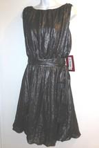 JS Collections new Metallic Dress sz 2 Sleeveless Bubble Gray NWT $150.00 - $20.00