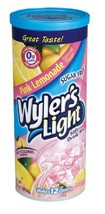 Wyler's Light Low Calorie Drink Mix, Pink Lemonade, 3.13-Ounce Pack of 3 - $25.84