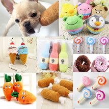 For Dog Toy Play Funny Pet Puppy Chew Squeaker Squeaky Cute Plush Sound ... - $3.57