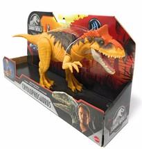 Jurassic World PRIMAL ATTACK Sound Strike Cryolophosaurus Action Figure NEW - $36.95