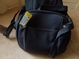 Samsonite Gray Yellow Travel Case Duffel Luggage image 6